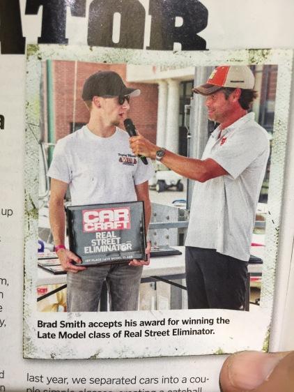 me in Car Craft Magazine